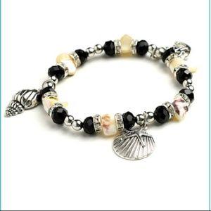 Jewelry - SEA SHELL CHARM BRACELETS
